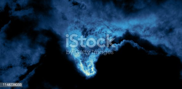 istock Storm clouds dramatic sky in coastline 1148238033