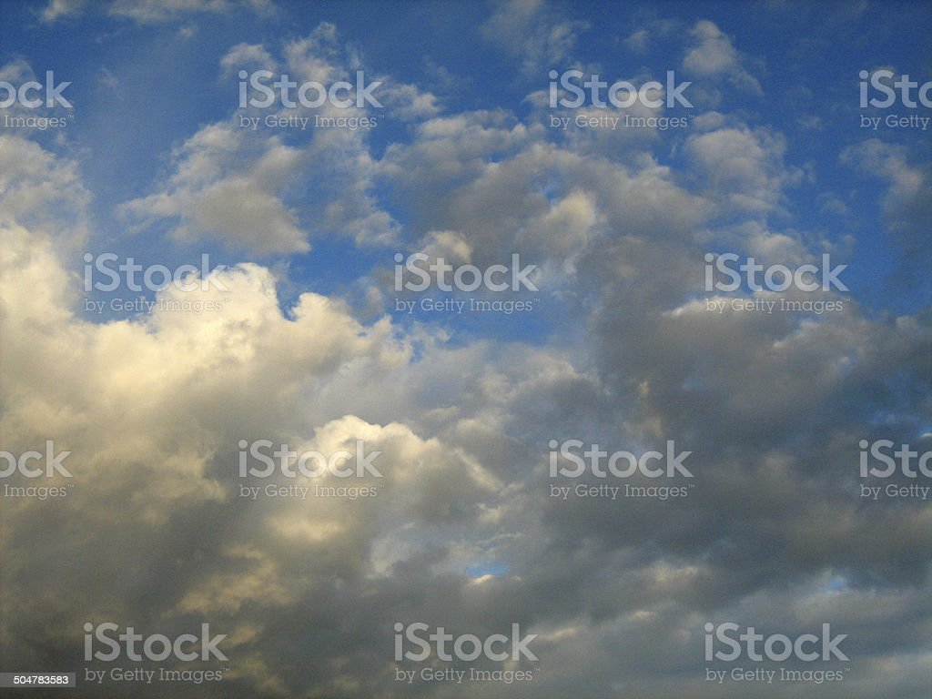 Storm clouds in the sky 007 stock photo