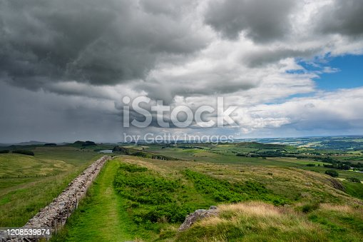istock Storm Clouds Over Hadrian's Wall 1208539874