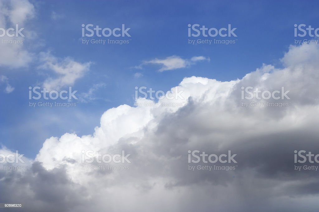 Storm Clouds Rising royalty-free stock photo