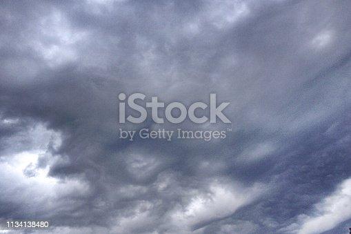 istock Storm Cloudscape 1134138480