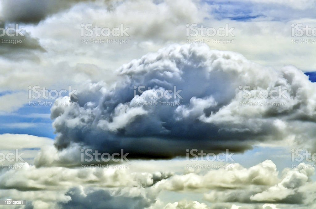 storm clounds royalty-free stock photo