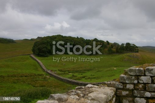 istock Storm Coming in on Hadrian's Wall 139745750