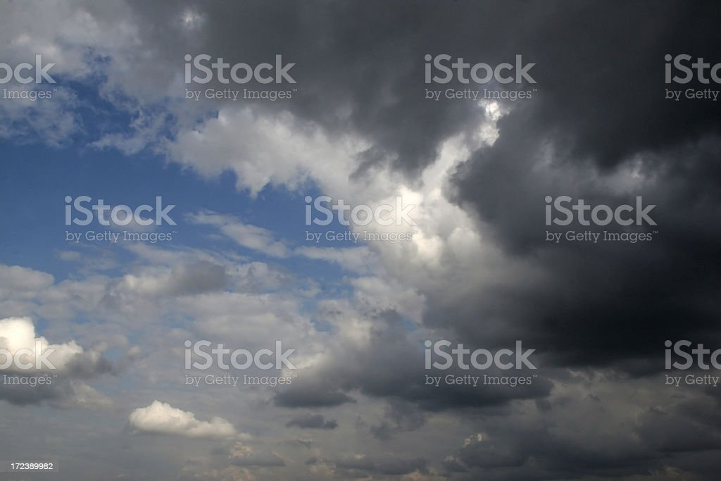 Storm Coming or Going royalty-free stock photo