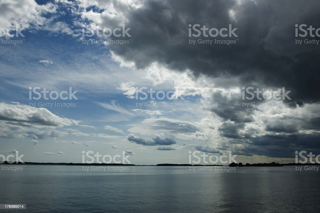 Storm Coming royalty-free stock photo