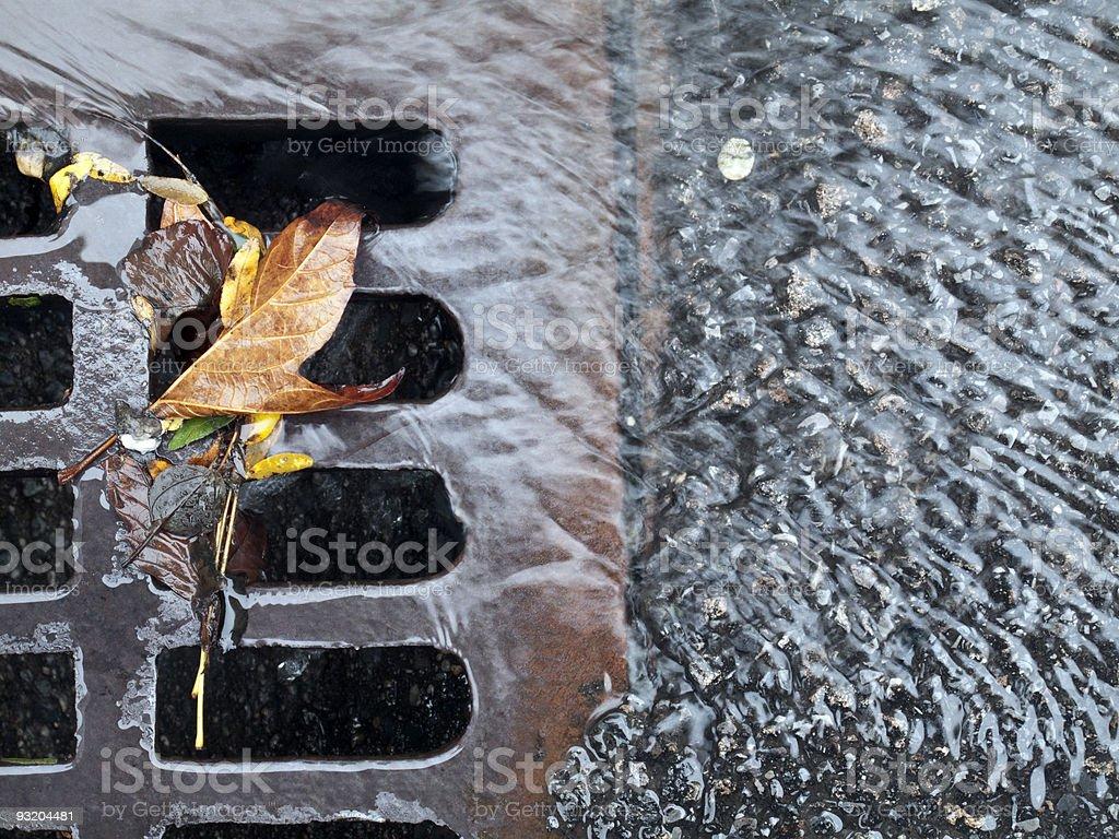 Storm drain stock photo