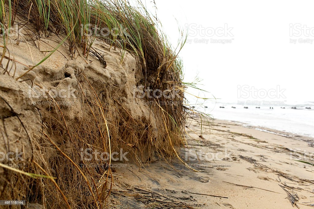Storm Erosion stock photo