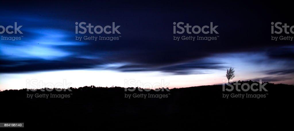 Storm Gathering stock photo