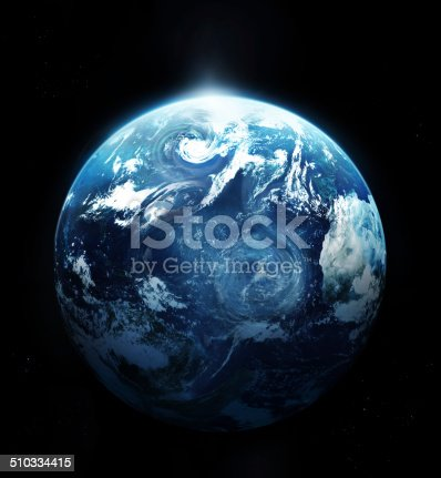 istock Storm on the planet earth - Original image from NASA 510334415
