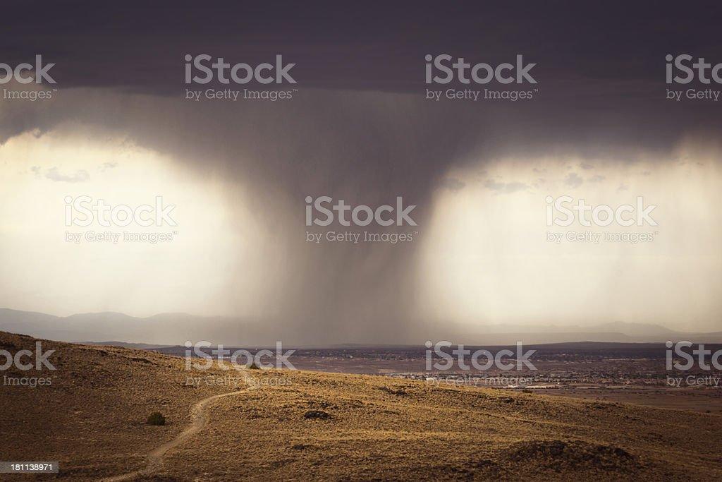 Storm Over Albuquerque royalty-free stock photo
