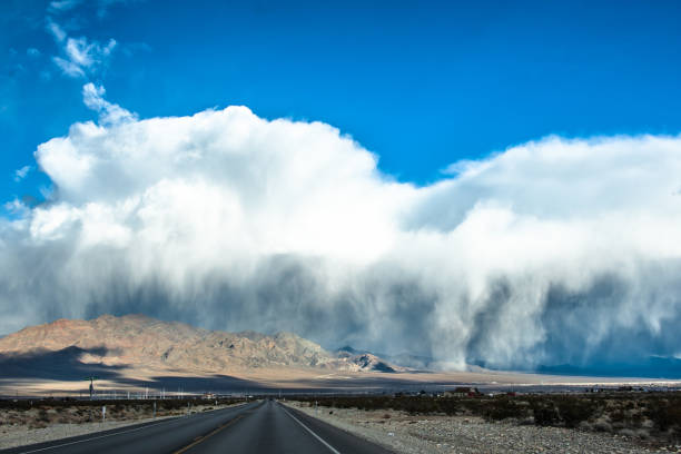 39 Desert Road In A Rain Storm Stock Photos, Pictures & Royalty-Free Images  - iStock