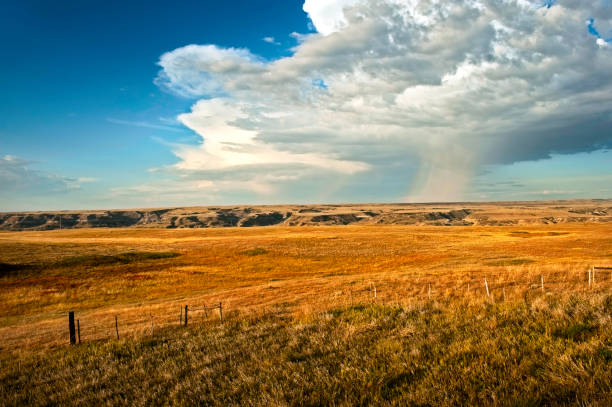 Storm over Prairie – Foto
