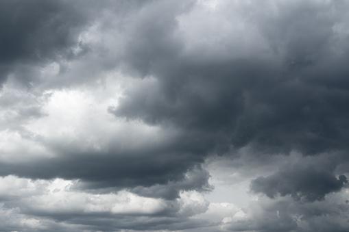 Storm sky, rain.