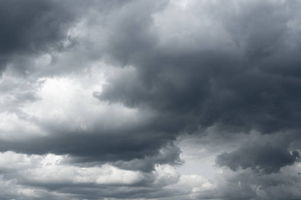 storm sky, rain. - overcast stock pictures, royalty-free photos & images