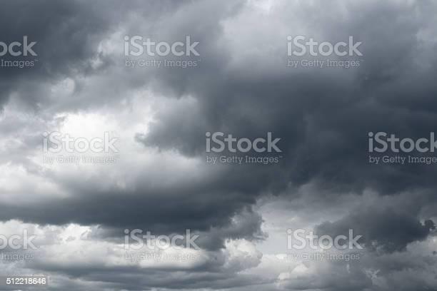 Photo of Storm sky, rain.
