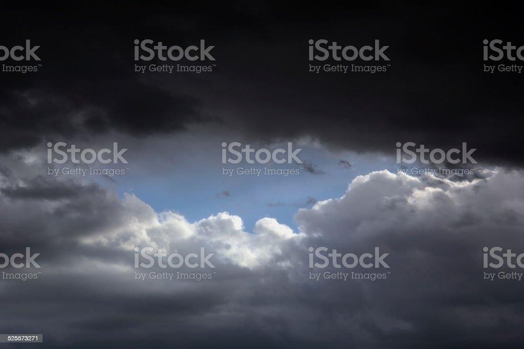Storm theme stock photo