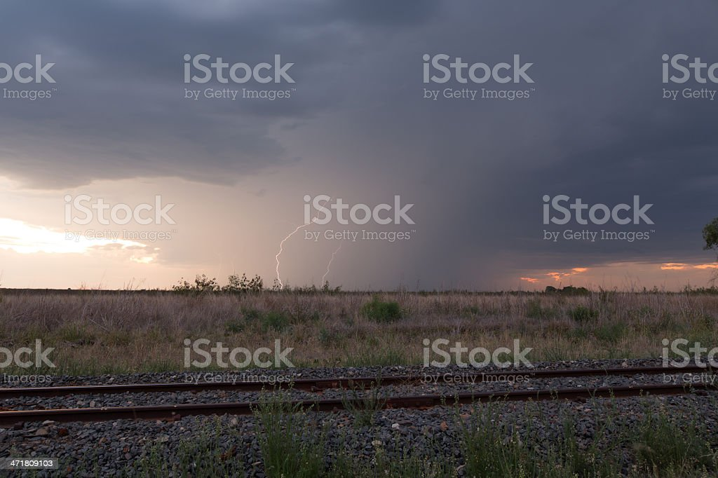Storm Tracking royalty-free stock photo