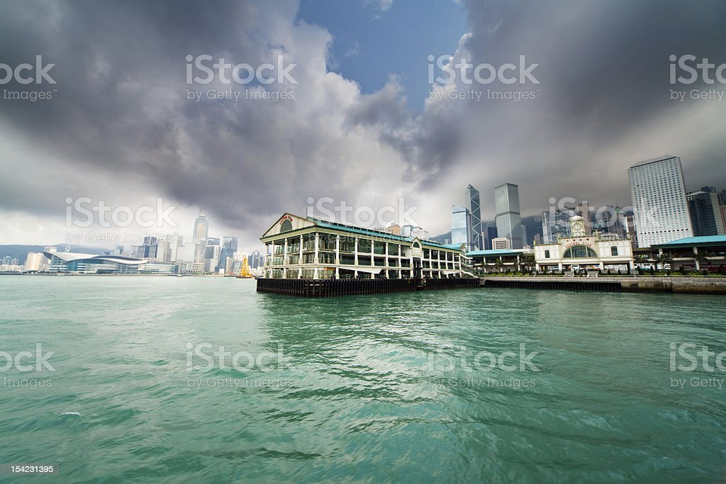 Storm warning royalty-free stock photo