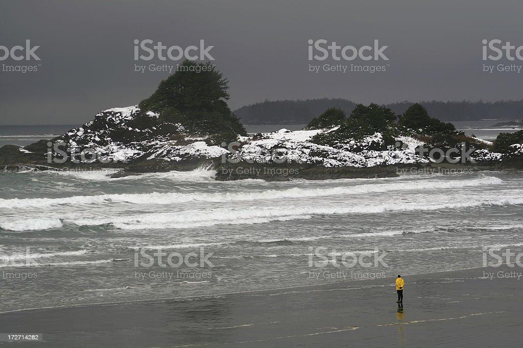 Storm Watching stock photo