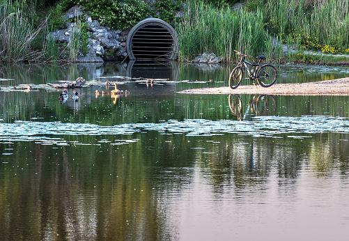 Storm Water Retention Pond - Flood Mitigation (Sewer)