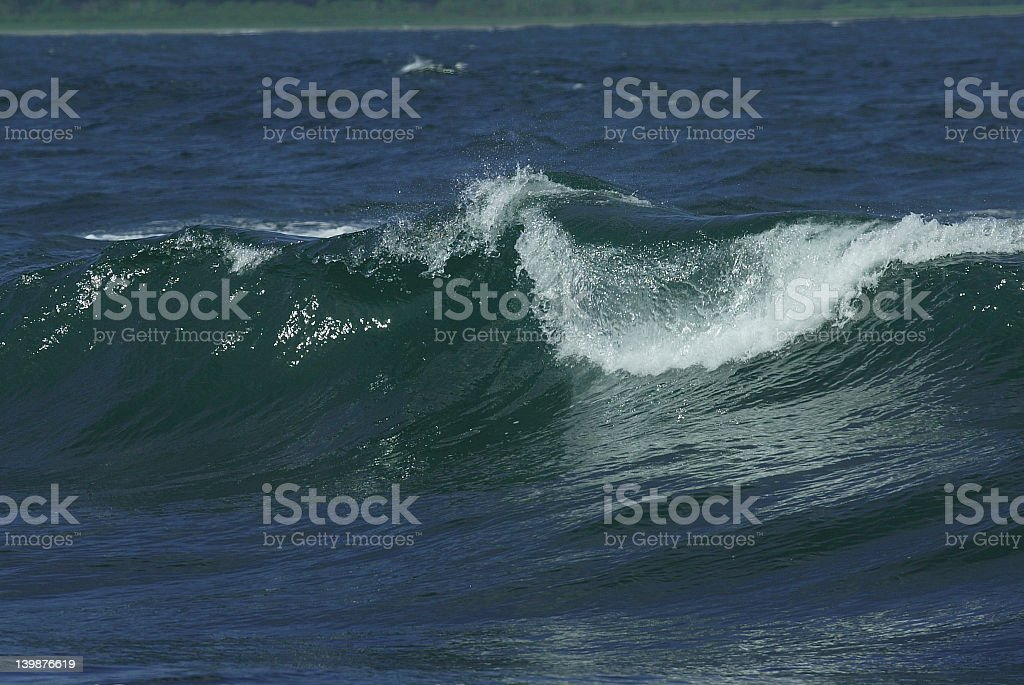 storm waves royalty-free stock photo