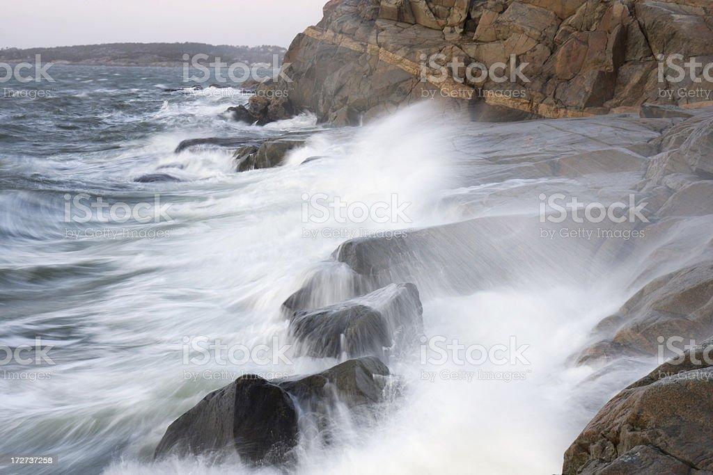 Storm Waves stock photo