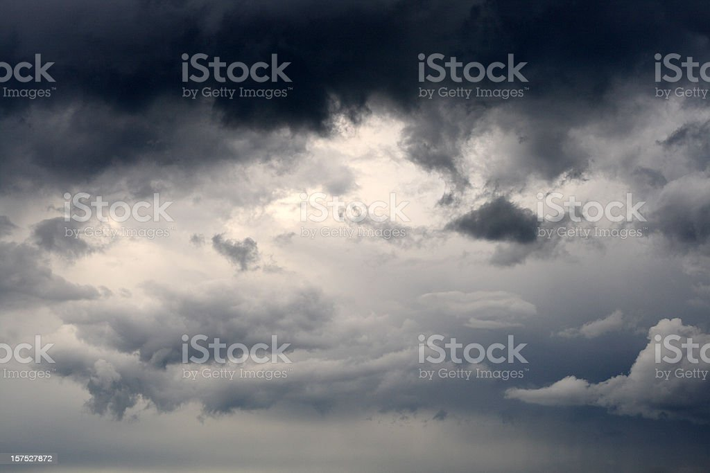 storm-cloud royalty-free stock photo