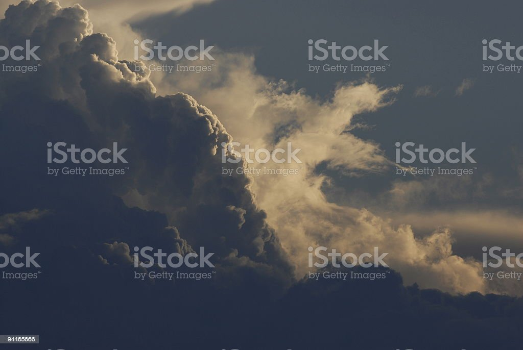 Stormclouds royalty-free stock photo
