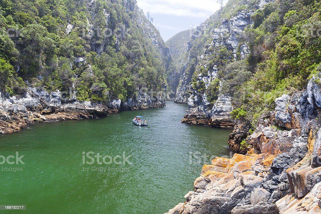 Storms River Mouth royalty-free stock photo