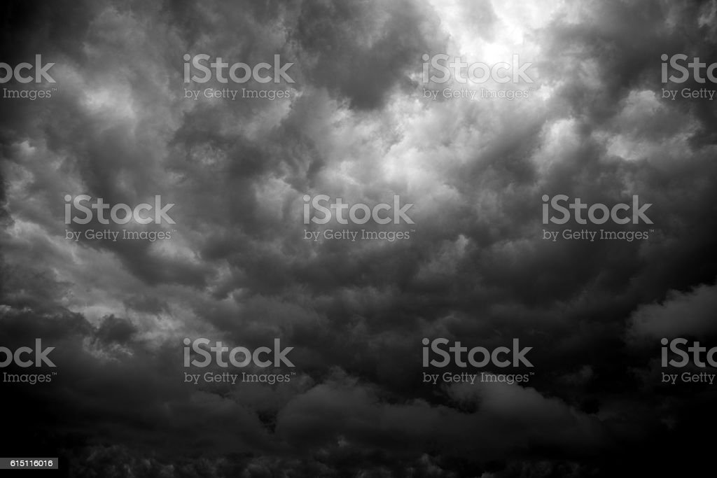Stormy clouds for background – Foto