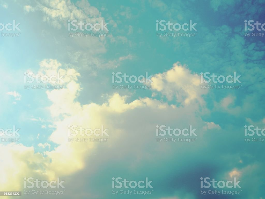 Stormy clouds sky foto de stock royalty-free