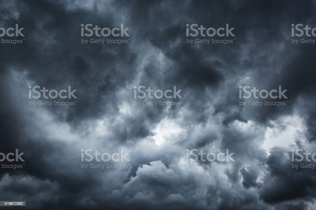 Stormy Cloudscape stock photo