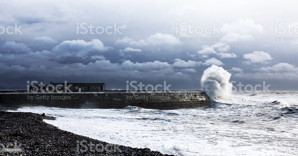 Stormy Cobb royalty-free stock photo