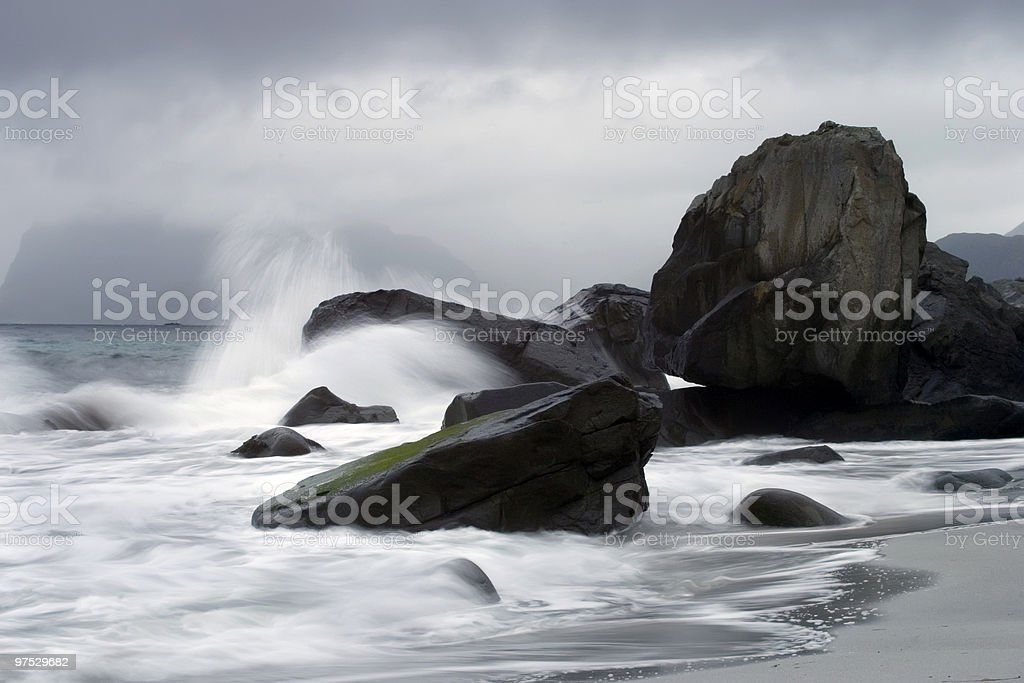 stormy day royalty-free stock photo