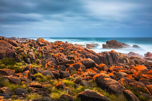 Granville Harbour is on the west coast of Tasmania