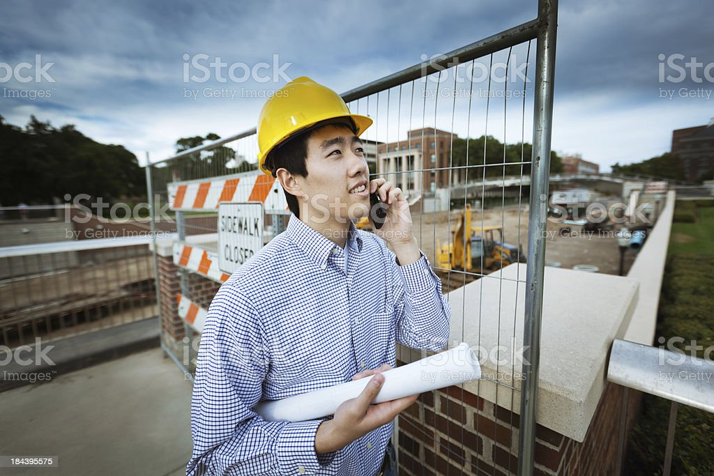 Stormy Forecast Ahead for Building and Construction Industry royalty-free stock photo