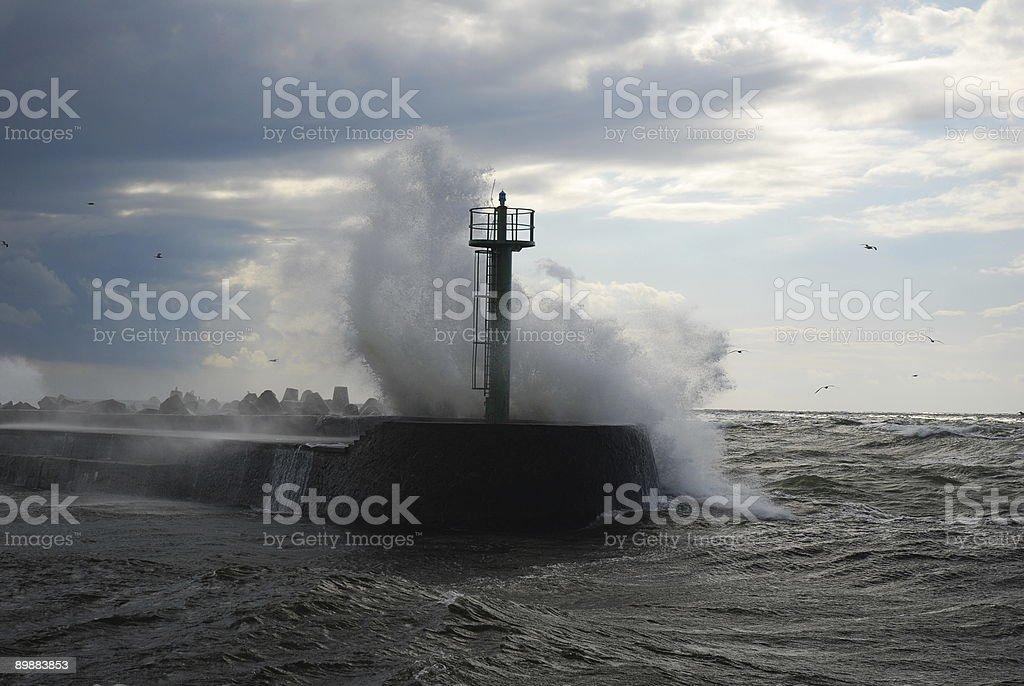 Stormy Landscape royalty-free stock photo