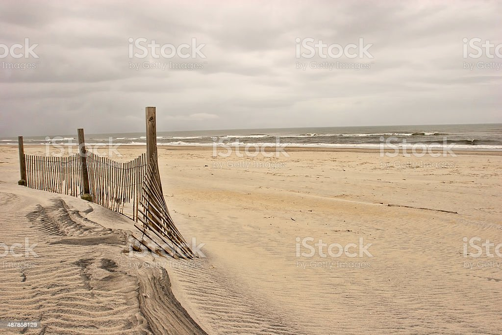 Stormy Outer Banks stock photo