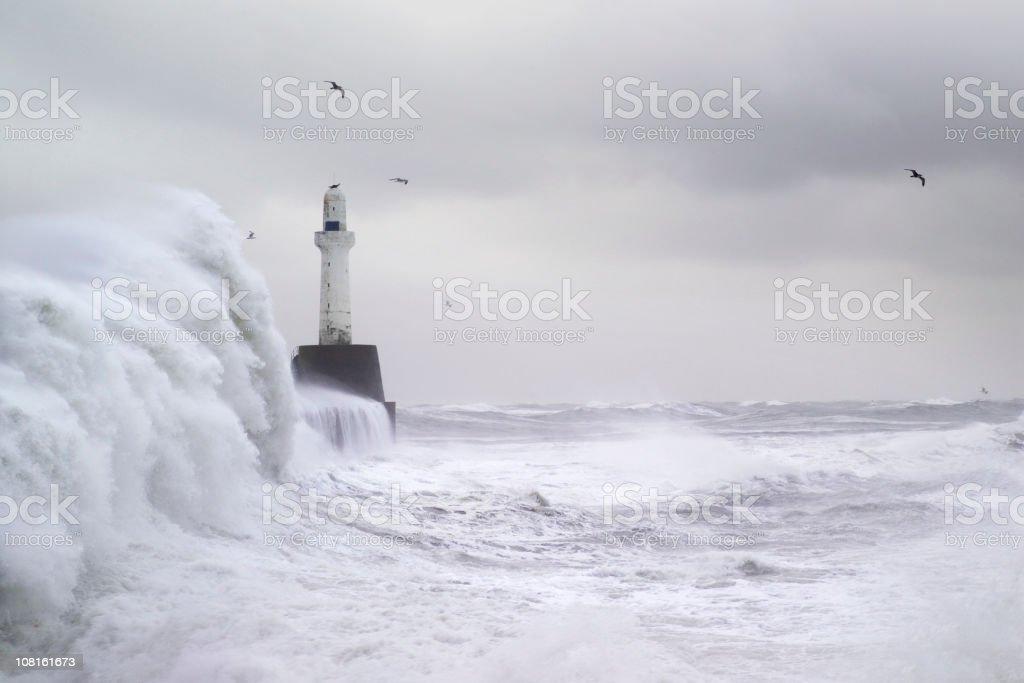 Stormy Seas royalty-free stock photo