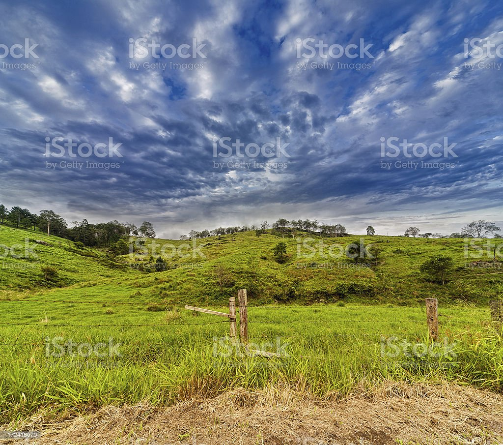 Stormy Skies royalty-free stock photo