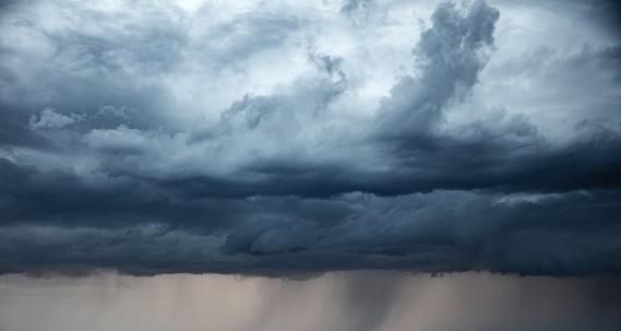 Stormy sky and rain.  apocalypse like