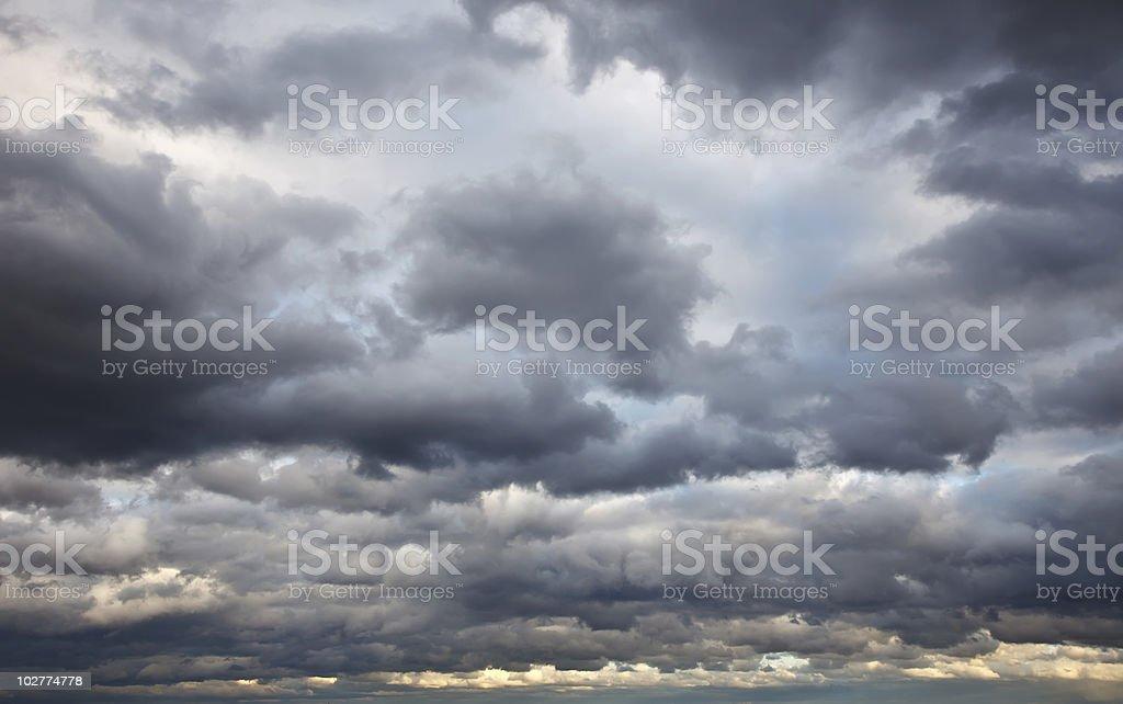 Stürmischen Himmel – Foto