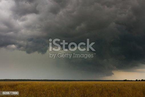 istock Stormy sky 505672690