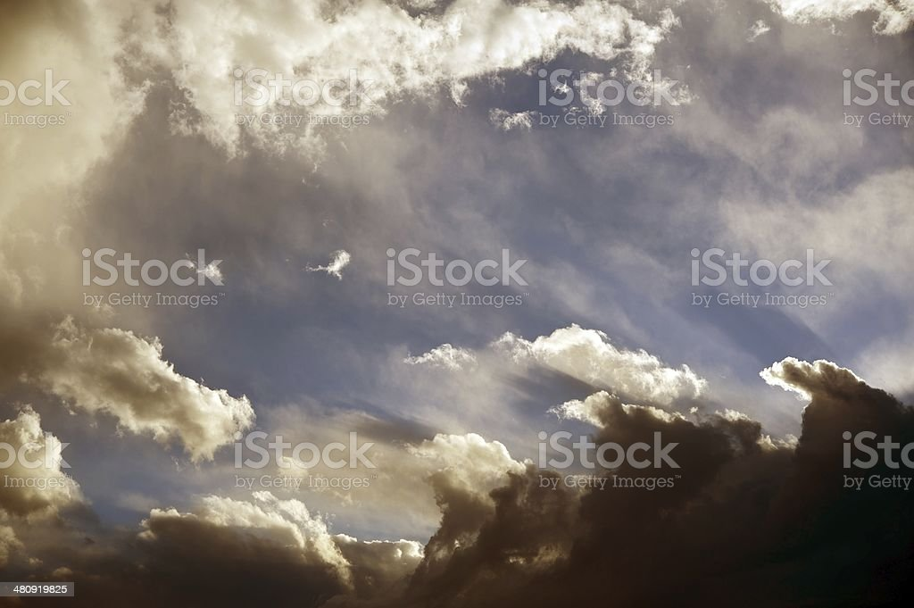 Stormy Summer Sky royalty-free stock photo