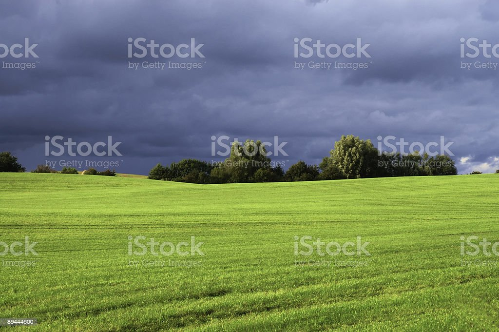 stormy vista with dramatic sky royalty-free stock photo