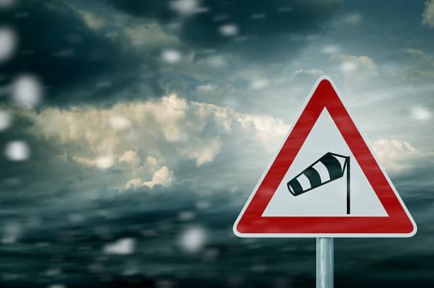 Stürmischen Wetterbedingungen – Foto