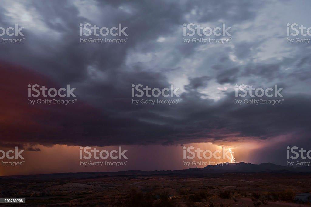 Stormy Weather stock photo