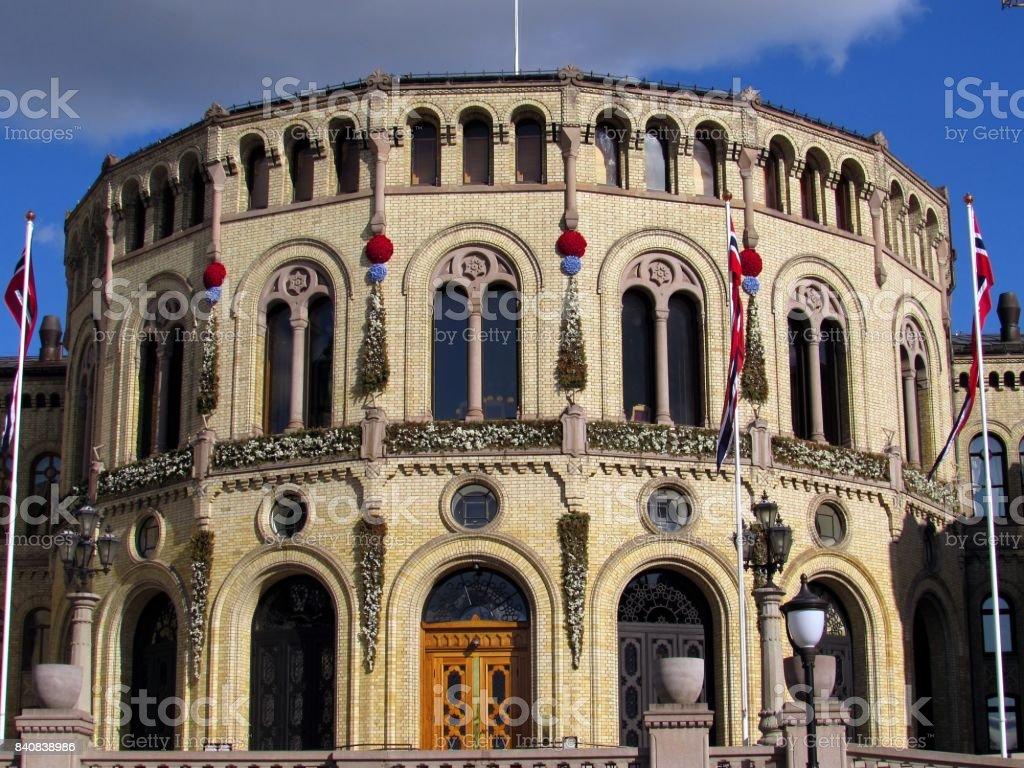 Stortinget stock photo