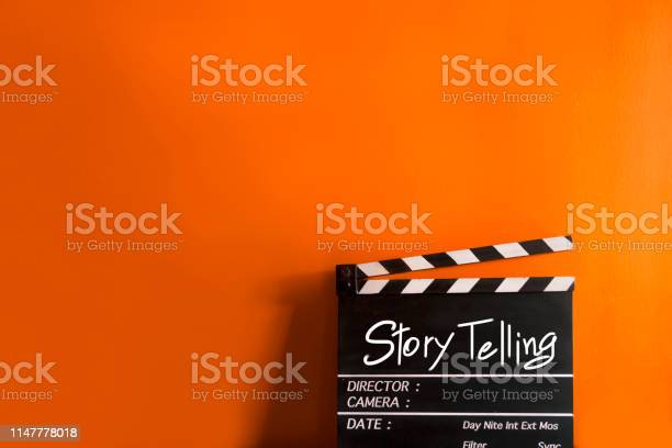 Story telling text title on film slate for movies and digital picture id1147778018?b=1&k=6&m=1147778018&s=612x612&h=8dubywc6pvzkao10cb2hbxzsn8 7uuor9ja304ngm1u=