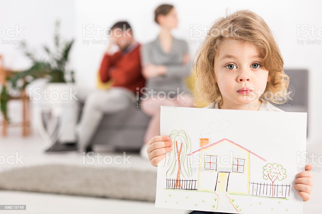 Story without a happy end stock photo